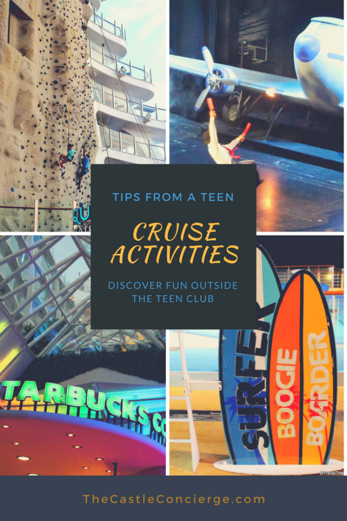 Cruise Activities for Teens.