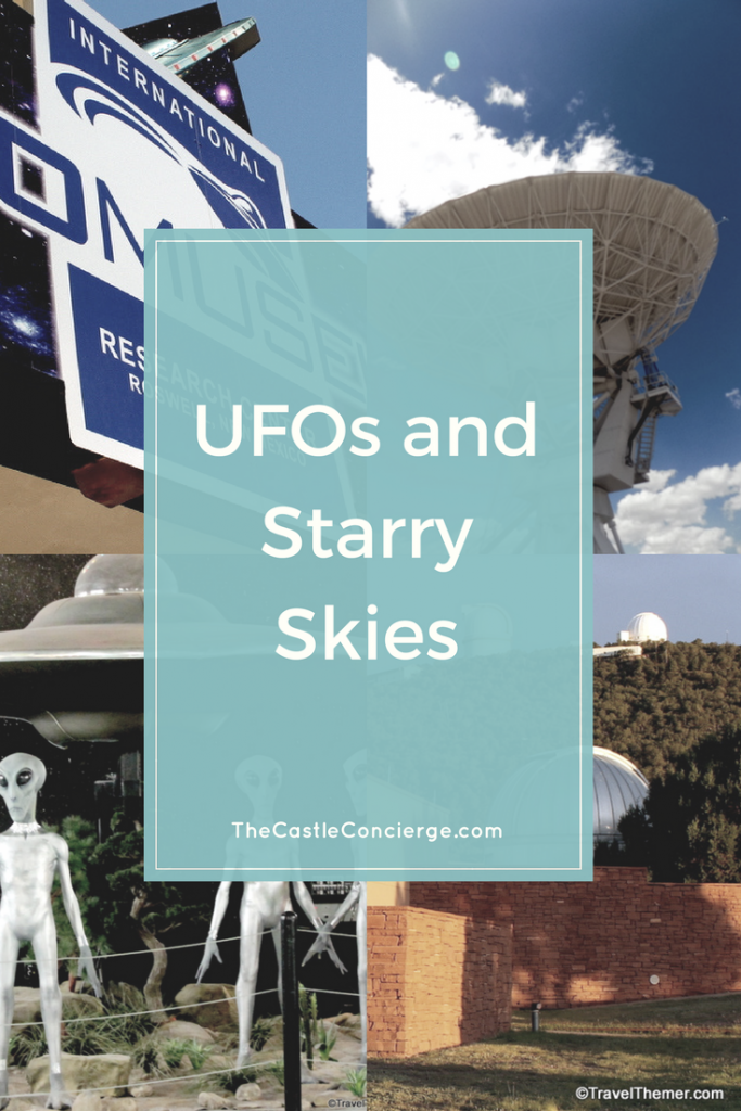 UFOs and Starry Skies